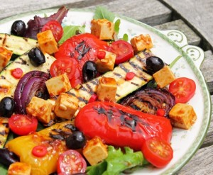 marinade style Grilled Vegetable salad