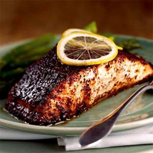 barbecue roasted salmon cedar plank